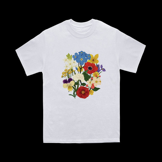 Sam Smith: Abbey Road White T-shirt