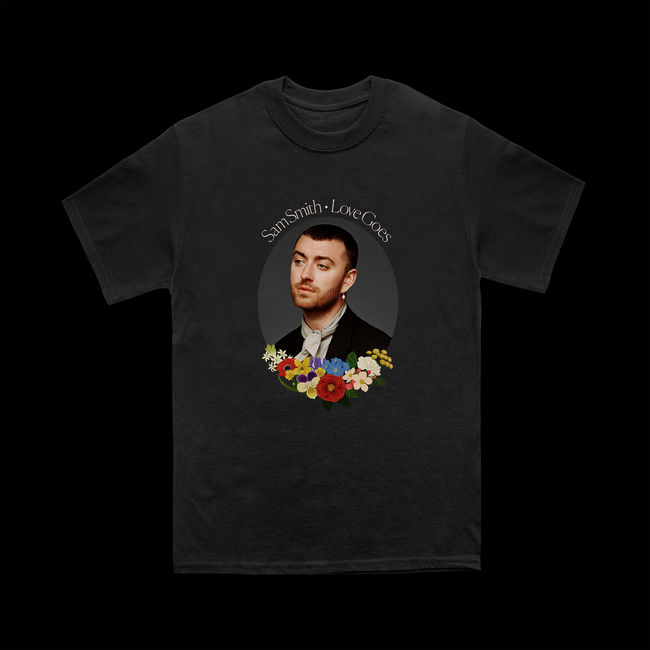 Sam Smith: Love Goes Album T-shirt