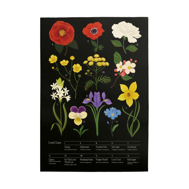 Sam Smith: Botanical Poster