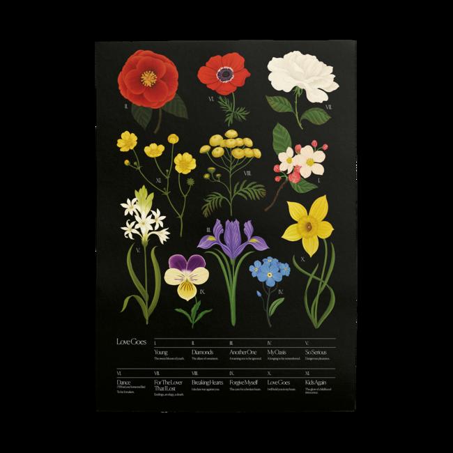 Sam Smith: Botanical Poster