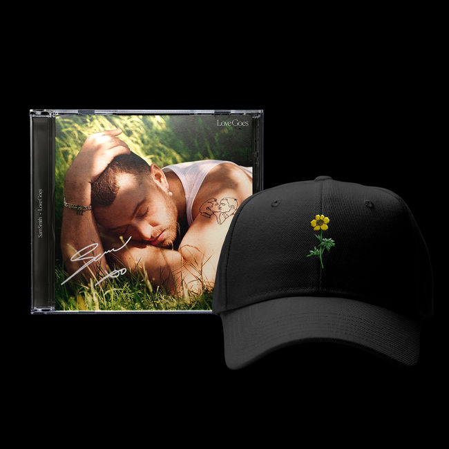 Sam Smith: Signed Buttercup Cap Bundle