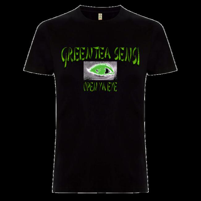 Greentea Peng: Greentea Sensi Open Ya Eye T-shirt (Competition Winner Design) - XS