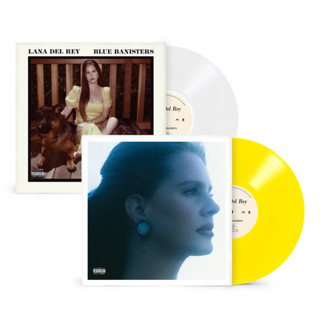 Lana Del Rey: BLUE BANISTERS VINYL BUNDLE