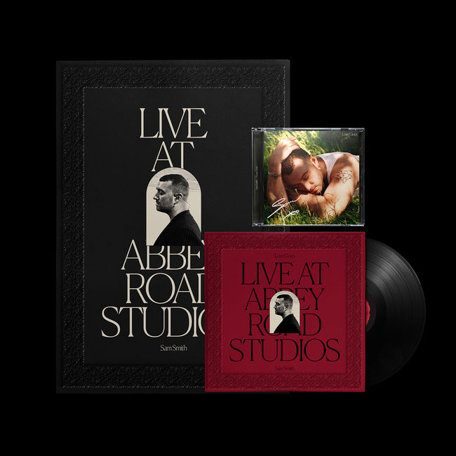 Sam Smith: Love Goes: Live At Abbey Road Studios Vinyl  + Love Goes Signed CD + Poster