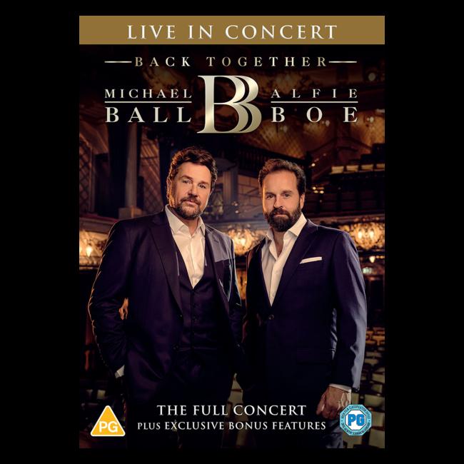 Michael Ball & Alfie Boe: Back Together - Live In Concert DVD