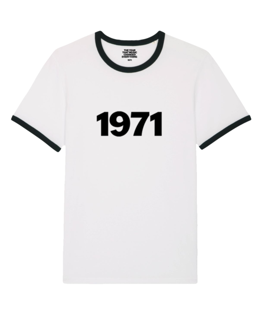 Island: 1971: Ringer Tee