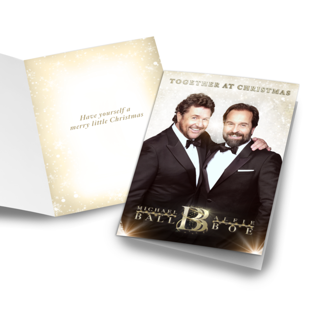 Michael Ball & Alfie Boe: Together at Christmas Card