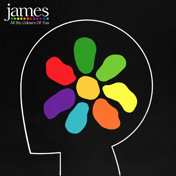 James: All The Colours Of You: Deluxe Hard Back CD Book