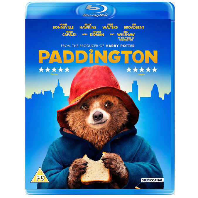 Paddington Bear: Paddington Blu-Ray