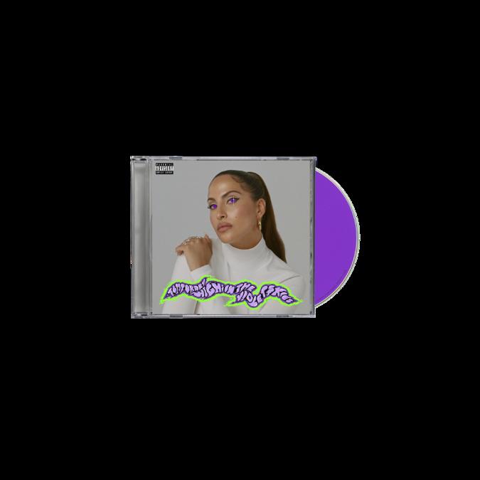 Snoh Aalegra : TEMPORARY HIGHS IN THE VIOLET SKIES CD