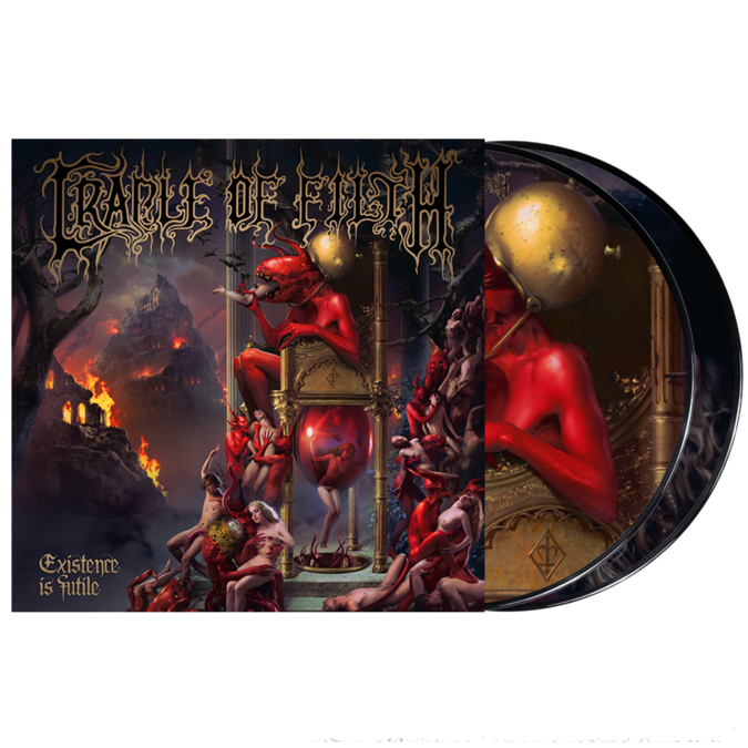 Cradle Of Filth: Existence Is Futile: Limited Edition Double Vinyl Pic Disc