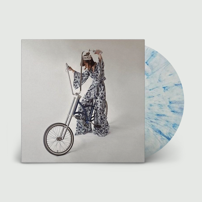 Faye Webster: Faye Webster: White + Dark Blue Splatter Vinyl