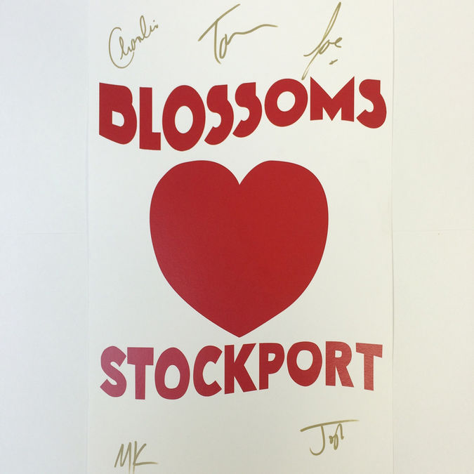 Blossoms: Fan Edition Signed Stockport Print