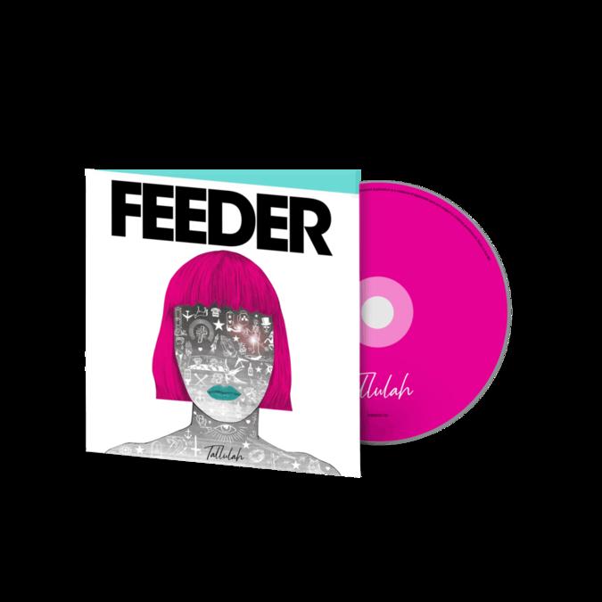 Feeder: Tallulah: Hardcover Book Deluxe CD