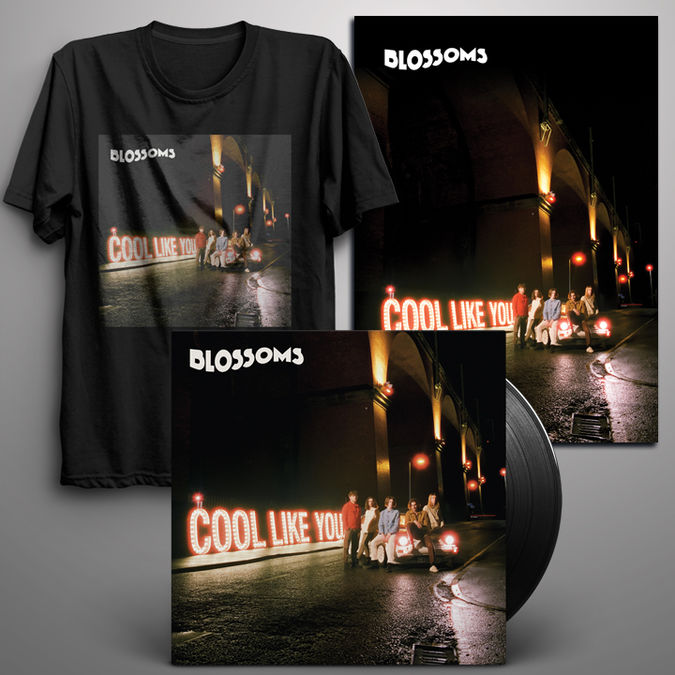 Blossoms: Signed LP + Digital Album + T-Shirt + Signed Art Print
