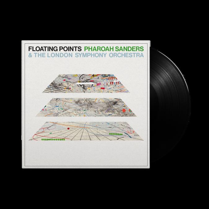 Floating Points: Promises: 140gm Black Vinyl in Die-Cut Gatefold Sleeve