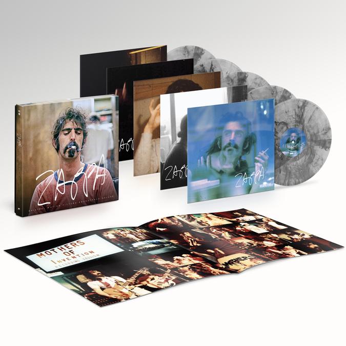 Frank Zappa: ZAPPA (Original Motion Picture Soundtrack): Exclusive Smoke Vinyl 5LP Box Set
