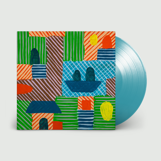 Half Japanese: Crazy Hearts: Limited Edition Transparent Turquoise Vinyl