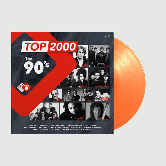 Various Artists: Top 2000 - The 90s Radio 2: Limited Edition Orange Vinyl