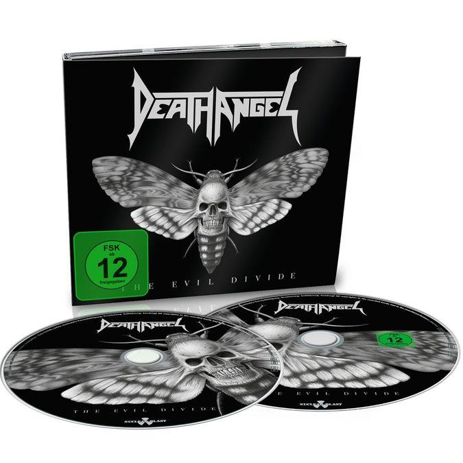Death Angel: The Evil Divide: Limited Edition Digipack