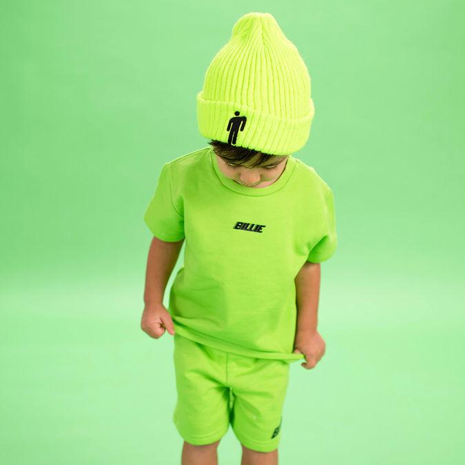 Billie Eilish: Blohsh Green Kids Beanie