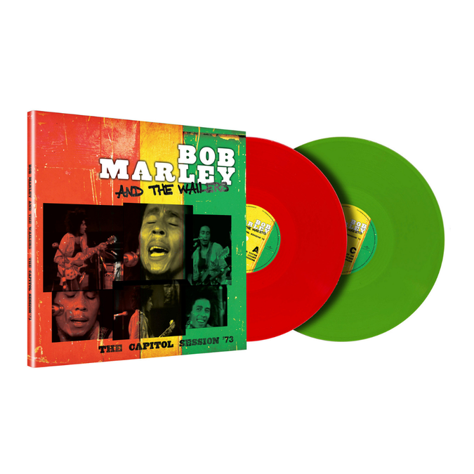 Bob Marley and The Wailers: The Capitol Session '73: Limited Edition Green & Red Vinyl