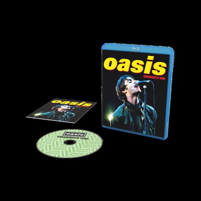 Oasis: Knebworth 1996: Blu-ray