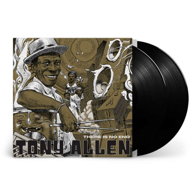 Tony Allen: There Is No End: Collector's Golden Cover Edition