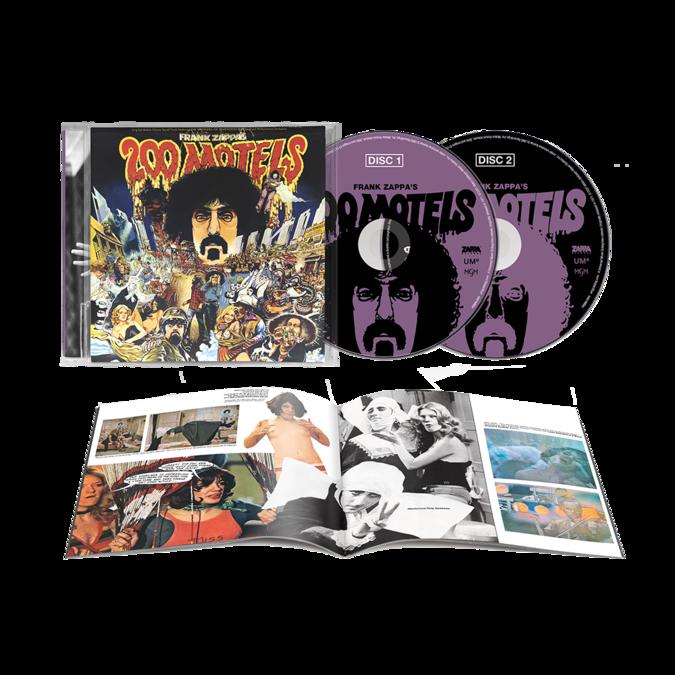 """Frank Zappa: """"200 Motels"""" Original Soundtrack: Limited Edition 2CD"""