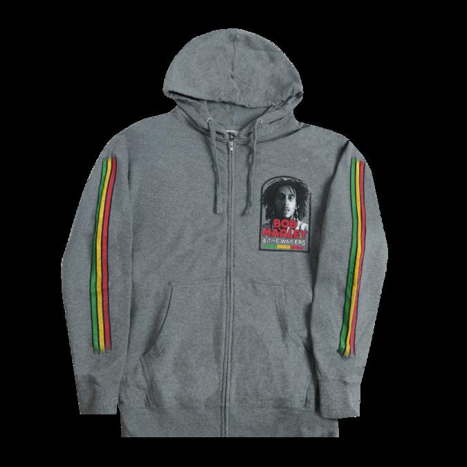 Bob Marley: Catch a Fire Manchester Tour Zip Hoodie XL