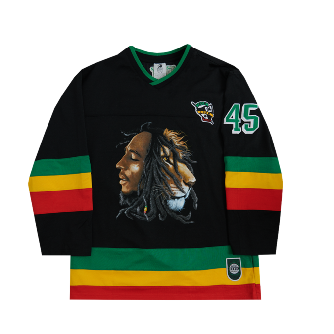 Bob Marley: Profiles Hockey Black Jersey S