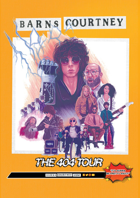 Barns Courtney: 404 Posters