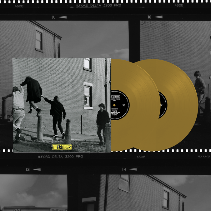 The Lathums: How Beautiful Life Can Be: Store Exclusive Signed Deluxe Gold 2LP - Alternative Artwork