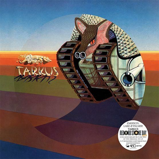 Emerson, Lake & Palmer: Tarkus: Picture Disc Vinyl EP