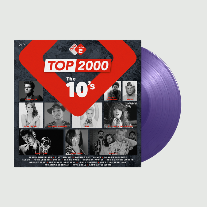 Various Artists: Top 2000 - The 10s Radio 2: Limited Edition Purple Vinyl