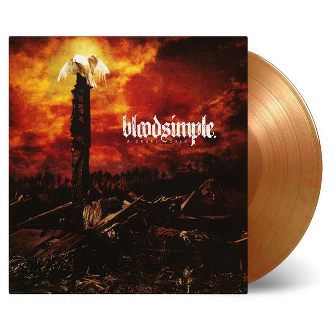 Bloodsimple: A Cruel World: Orange + Gold Mixed Numbered Vinyl