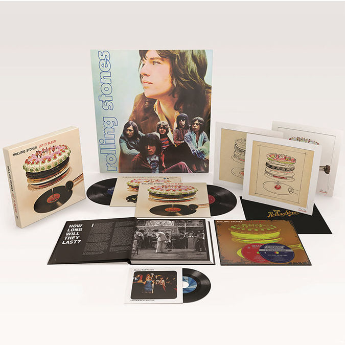The Rolling Stones: Let It Bleed: 50th Anniversary Edition Deluxe Boxset
