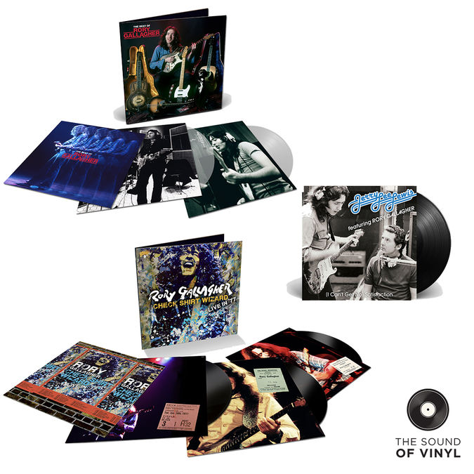Rory Gallagher: The Sound Of... Rory Gallagher: Greatest Hits Clear Vinyl 2LP + 7