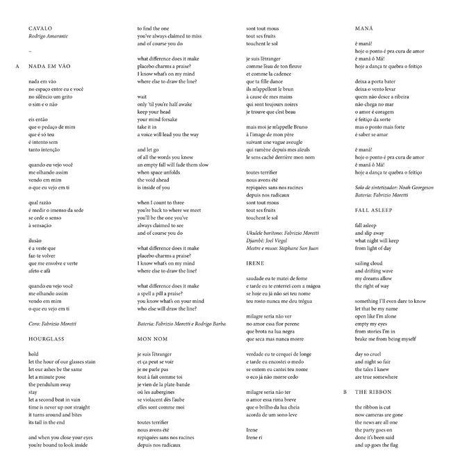 Rodrigo Amarante: Cavalo: CD