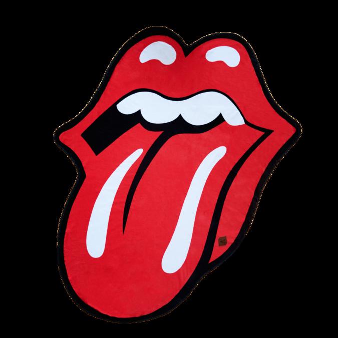 The Rolling Stones: Slowtide x Stones Classic Tongue Die Cut Beach Towel