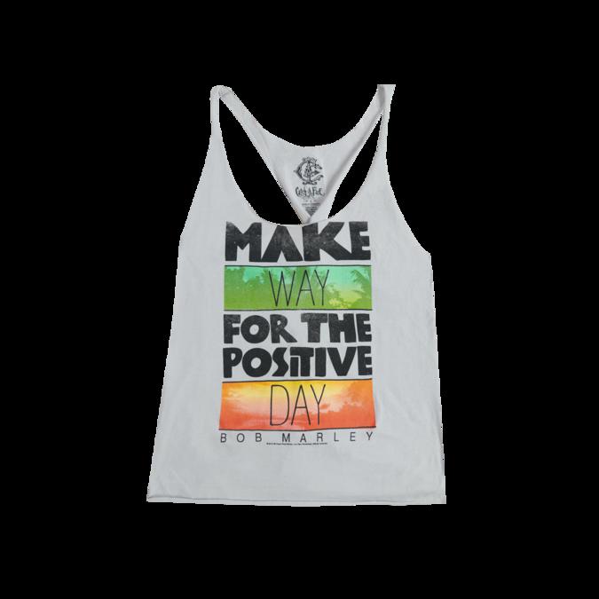 Bob Marley: Catch a Fire Make Way Twist Ladies Tank Top - S
