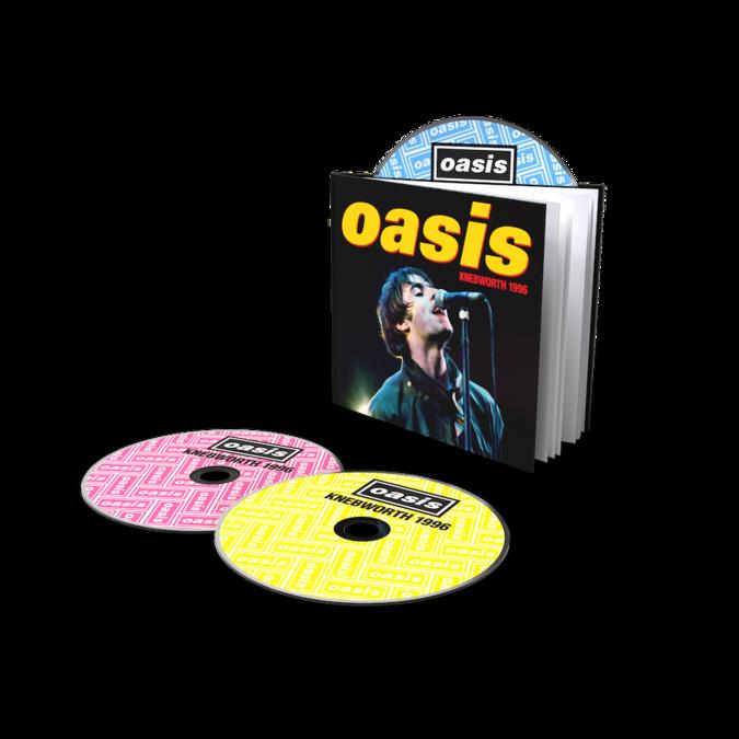 Oasis: Knebworth 1996: Deluxe 2CD + DVD Bookpack