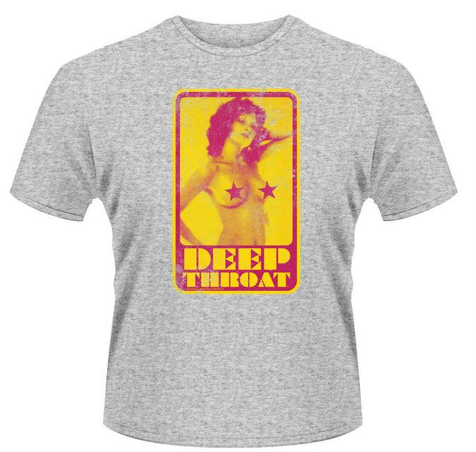 Deep Throat: Small - Retro T-Shirt