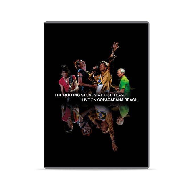 The Rolling Stones: 'A Bigger Bang' Live On Copacabana Beach: DVD + 2CD