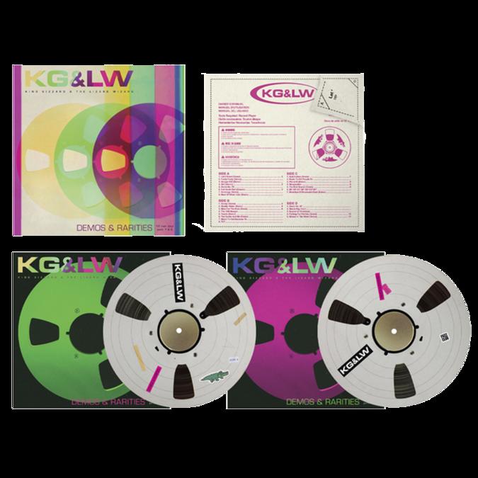 King Gizzard & The Lizard Wizard: Demos & Rarities (Fuzz Club Official Bootleg): Picture Disc Vinyl Box Set [limited to 500]