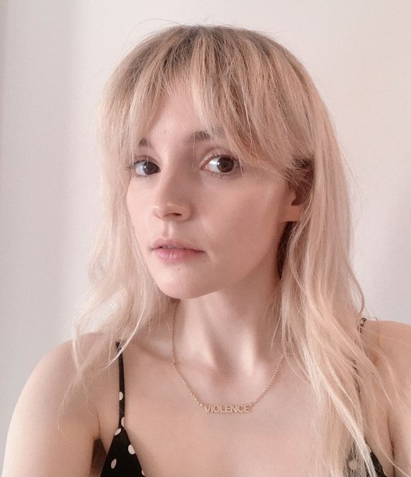 Chvrches: Screen Violence Gold Plated Necklace