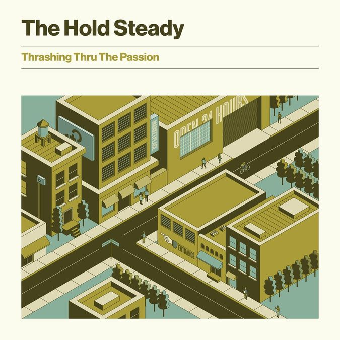 The Hold Steady: Thrashing Thru The Passion: Limited Edition Brown Vinyl