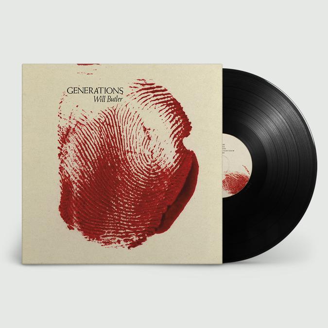 Will Butler: Generations: Vinyl LP + Exclusive Signed Poster