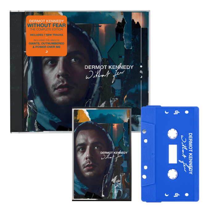 Dermot Kennedy: WITHOUT FEAR THE COMPLETE EDITION: CD + BLUE CASSETTE