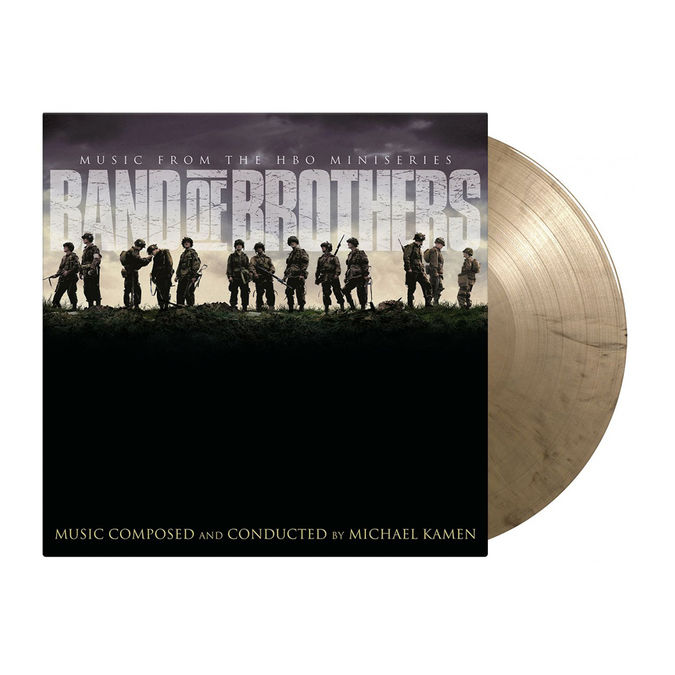 Original Soundtrack: Band of Brothers: Limited Edition Gold & Black Marbled Vinyl